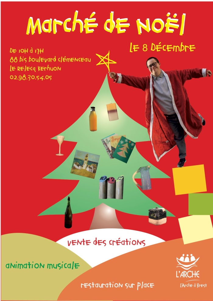 Marché de Noël L'Arche à Brest 2018